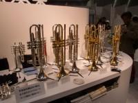 管楽器のブース