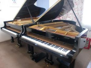グランドピアノのサイズ C3 C7