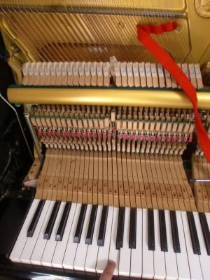 ピアノの音がでない